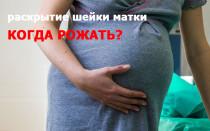 Что обеспечивает раскрытие шейки матки, каким оно должно быть?