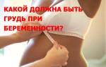 Какой должна быть грудь при беременности, как она меняется и растет