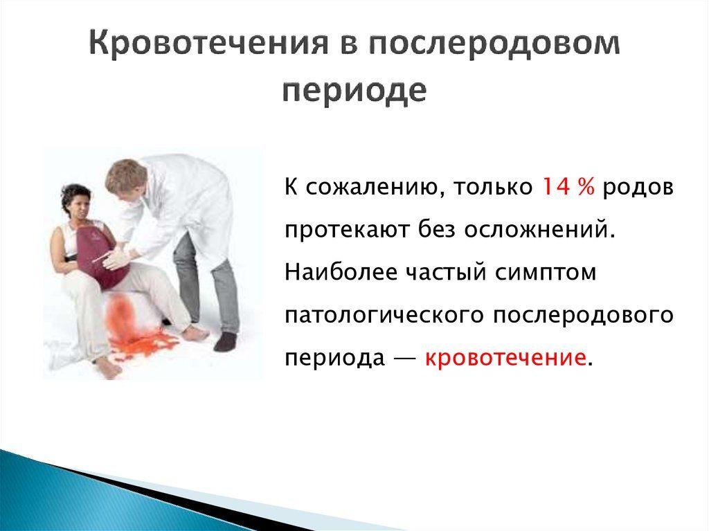 кровотечения в после родовом периоде