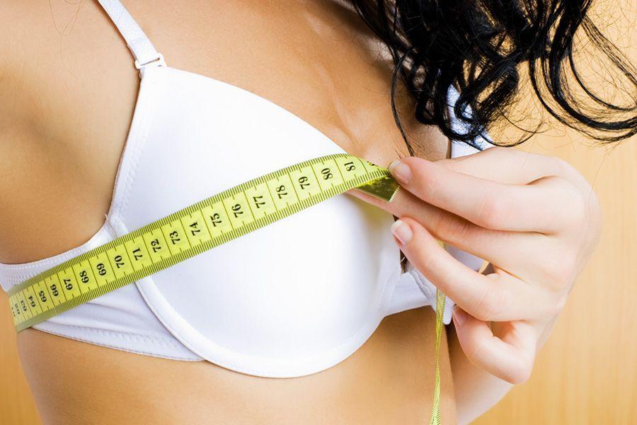 Как изменить размер бюста